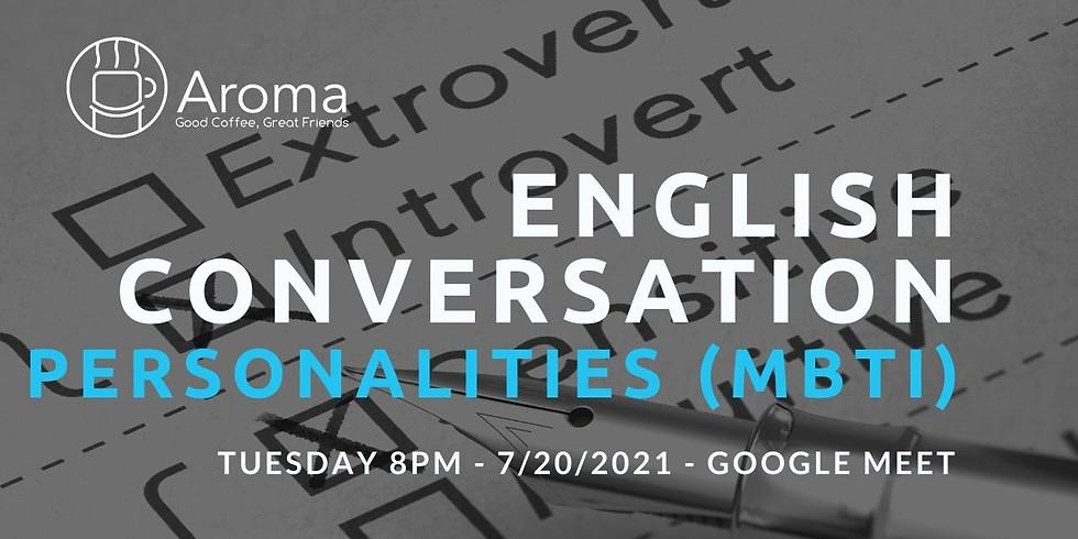 Online English Conversation - Personalities (MBTI)