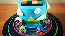 Go Jetters Cake - Cbeebies