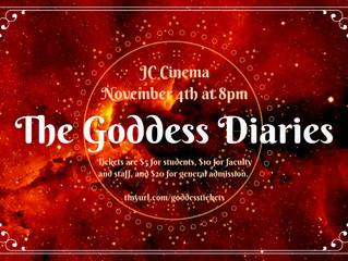 Goddess Diaries 2016 | Show Date