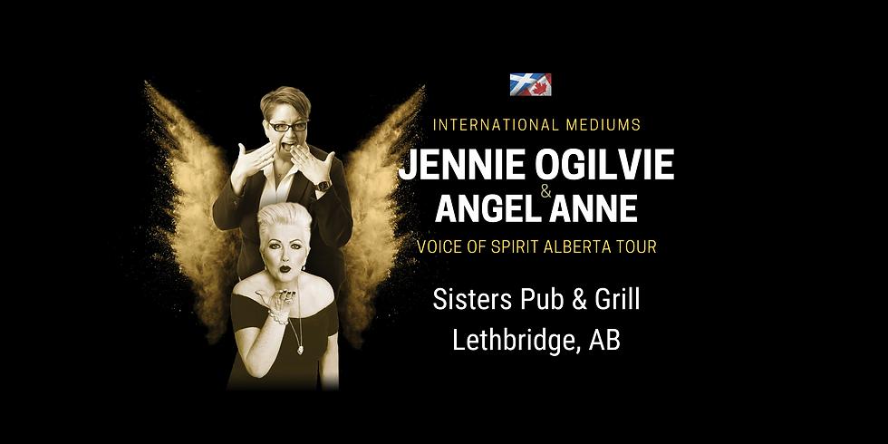 JENNIE OGILVIE & ANGEL ANNE, LIVE