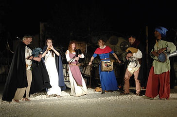 Ventouresco  musique médiévale à Peyrepertuse