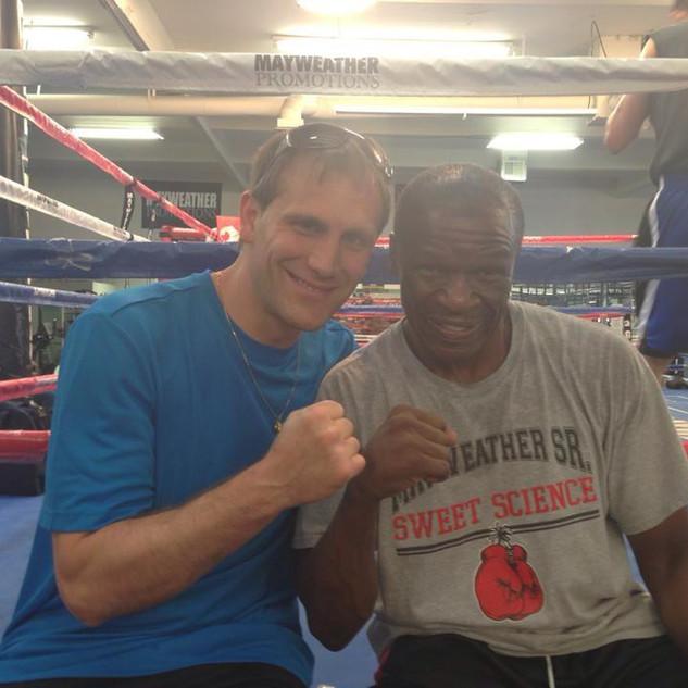 Tom Yankello & Floyd Mayweather Sr.