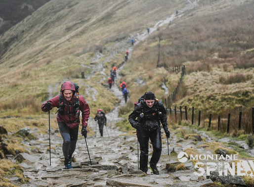 My Spine Race ~ Kerry Sutton