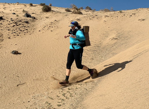 I signed up for the Marathon des Sables in a fit of madness... ~ Catriona Savage