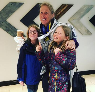 Boston Marathon 2018 ~ Helen Loxton