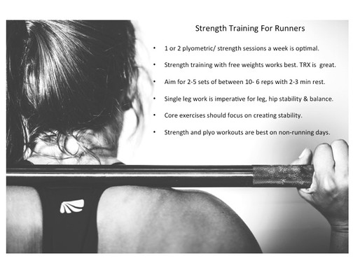 Strength Training from Runners
