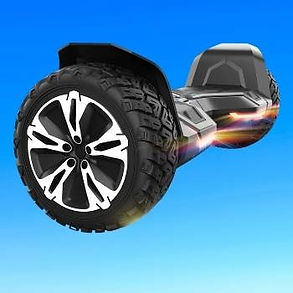 All Terrain Off Road Hoverboard with Music Speakers and LED Lights