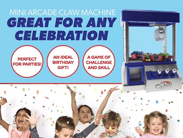 Claw Candy Toy Grabber Machine