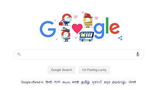 Google dedicated a Doodle for Coronavirus saviors: Doctors, reseachers,Teachers, Emergency service