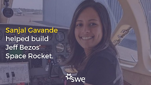 Sanjal Gavande helped build Jeff Bezoz' Space Rocket