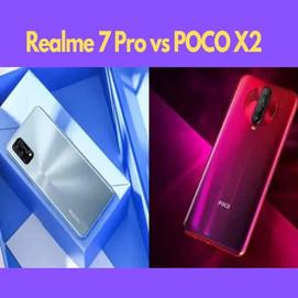 Realme 7 pro vs Poco X2: Best Smartphones under 20,000