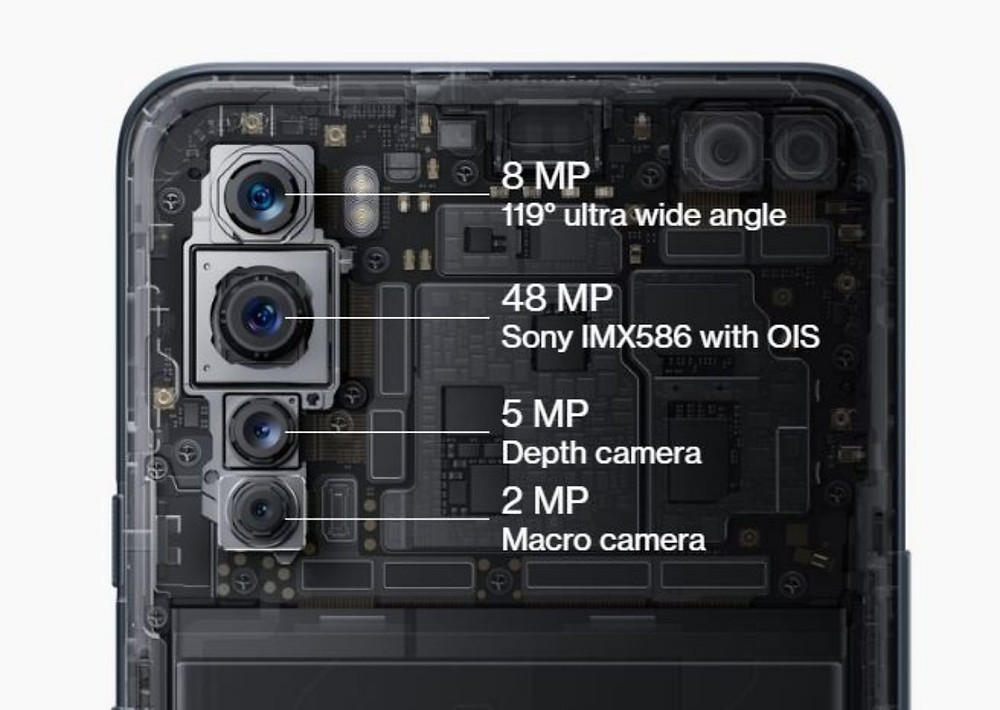 Oneplus nord quad rear camera setup