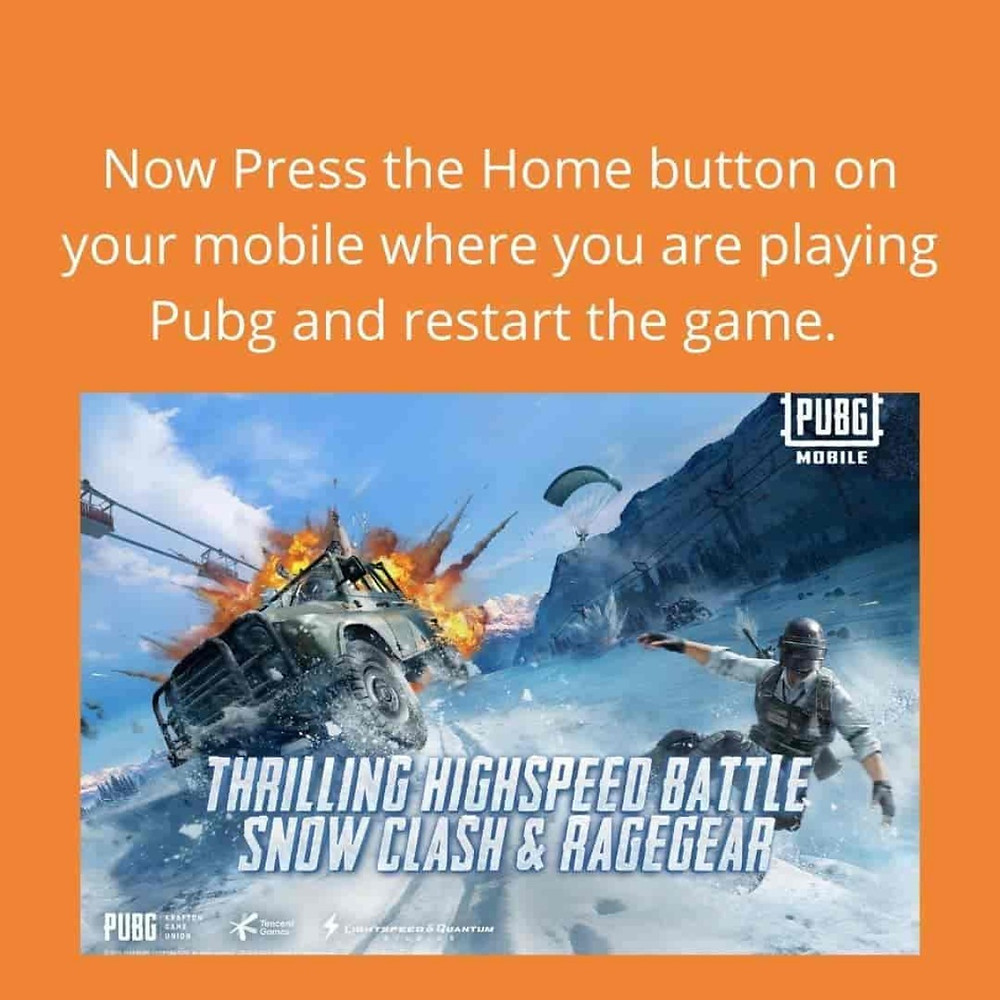 Pubg ping problem will be resolved, you can play the game without any ping issues.