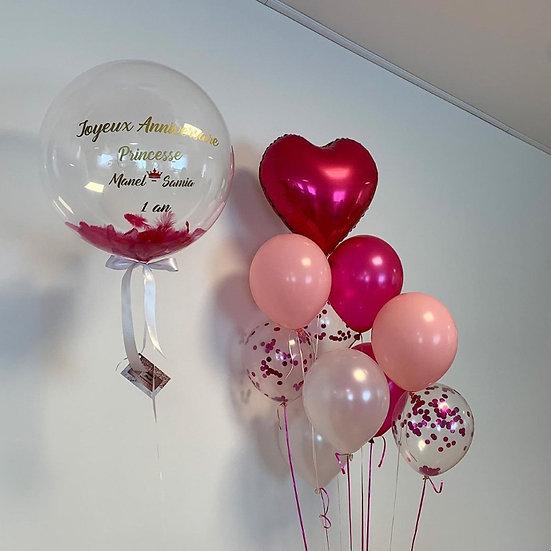 Ballon personnalisé gonflé à l'hélium