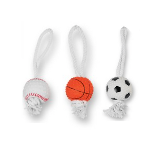 3-Pack Sport Rope Toys