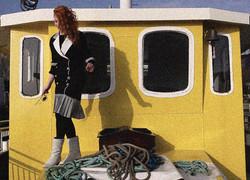 Sail on Sailor yellow boat