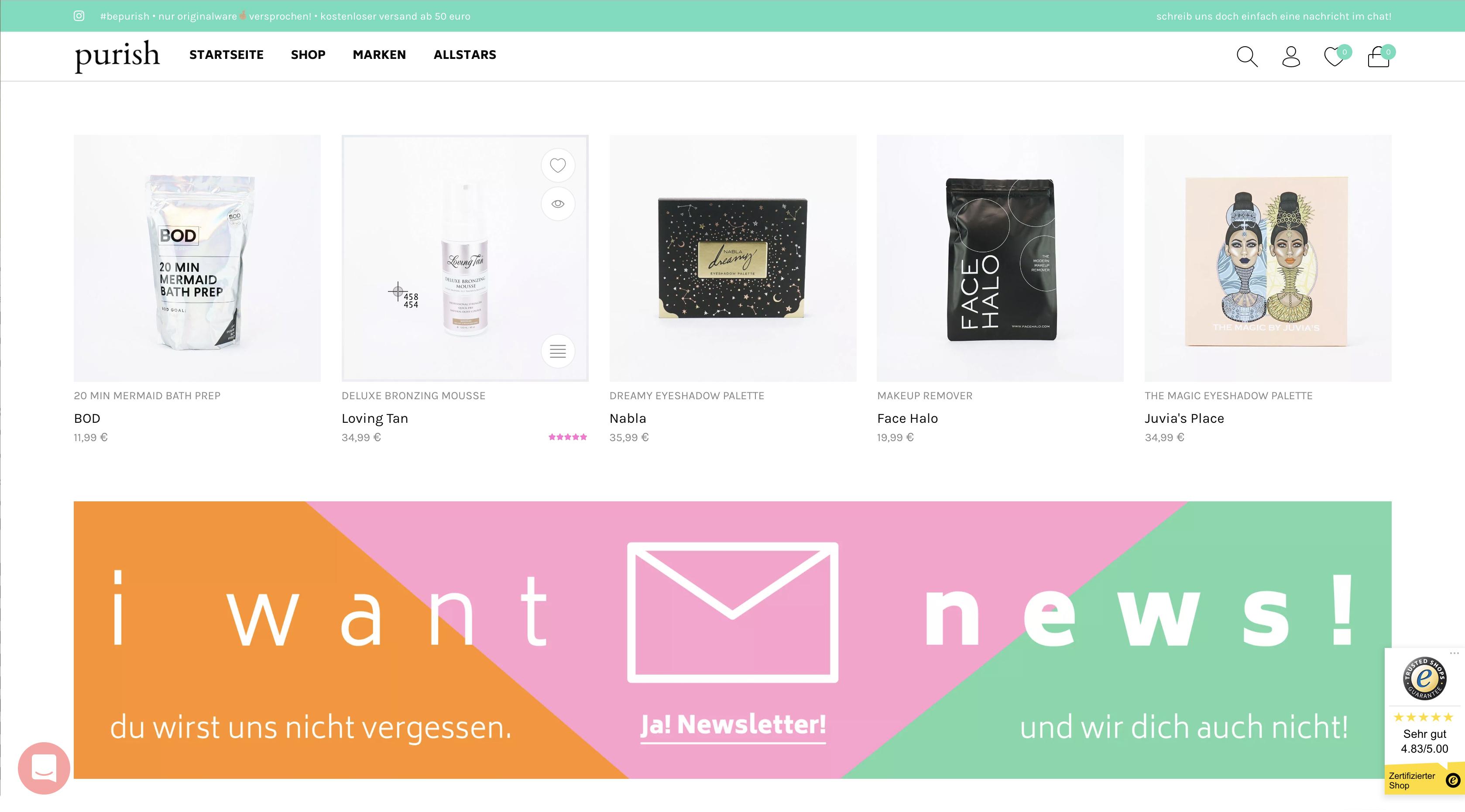 Homepage Newsletter Banner