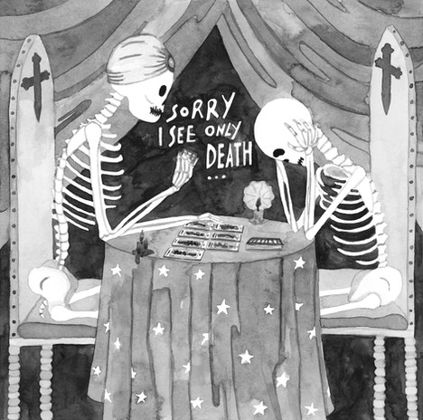 Skeletal Tarot