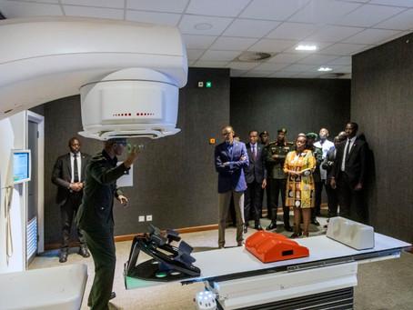 President Kagame inaugurates the Rwanda Cancer Center