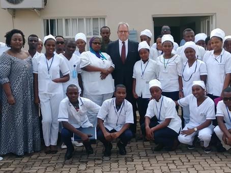 Komera Directors visit Kanombe Military Hospital