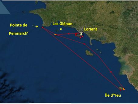 1ère course de la saison : La Plastimo Lorient Mini