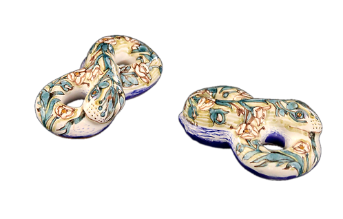 Фигурка змейка-бесконечность