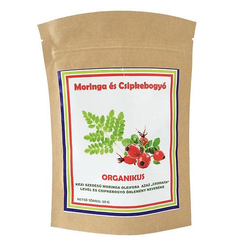 Organikus Moringa és Csipkebogyó
