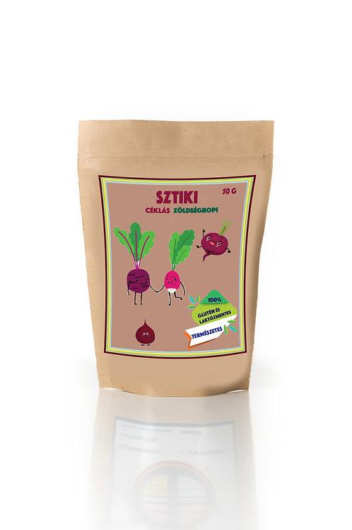SZTIKI-Céklás zöldség ropi
