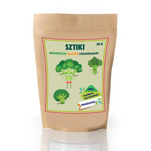 SZTIKI - Brokkolis-sajtos zöldség ropi