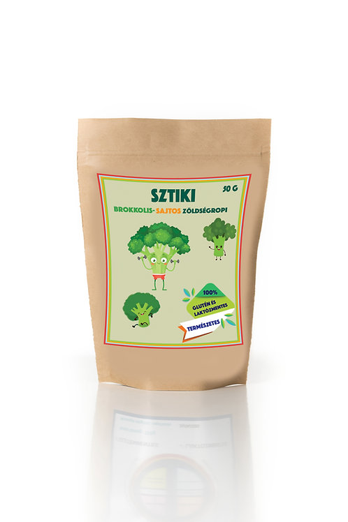 SZTIKI-Brokkolis-Sajtos zöldség ropi