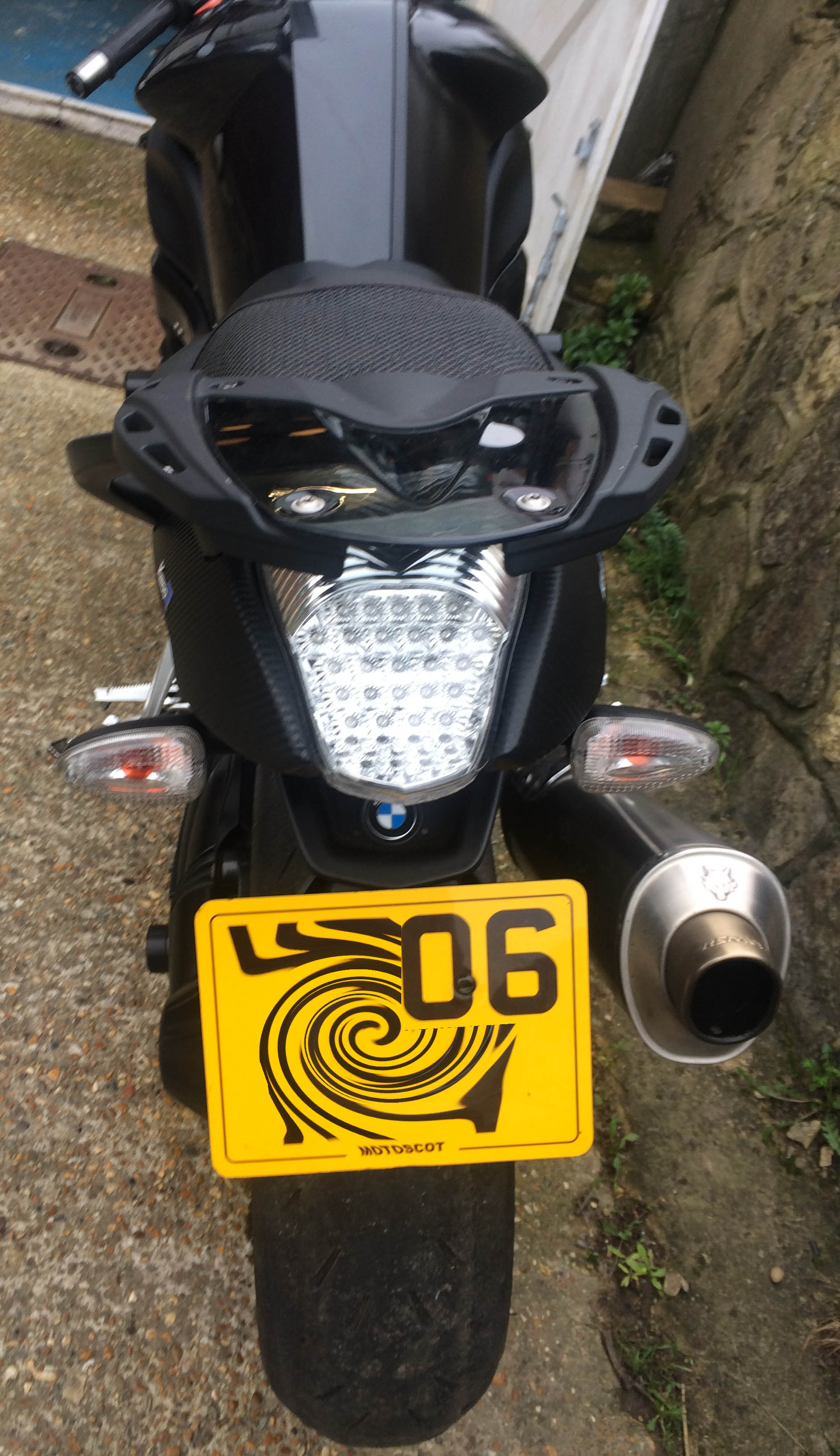 BMW K1200R Rear Light