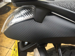 BMW K1200R Tail
