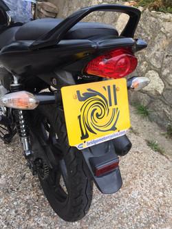 Honda CBF125 2011 - Tail