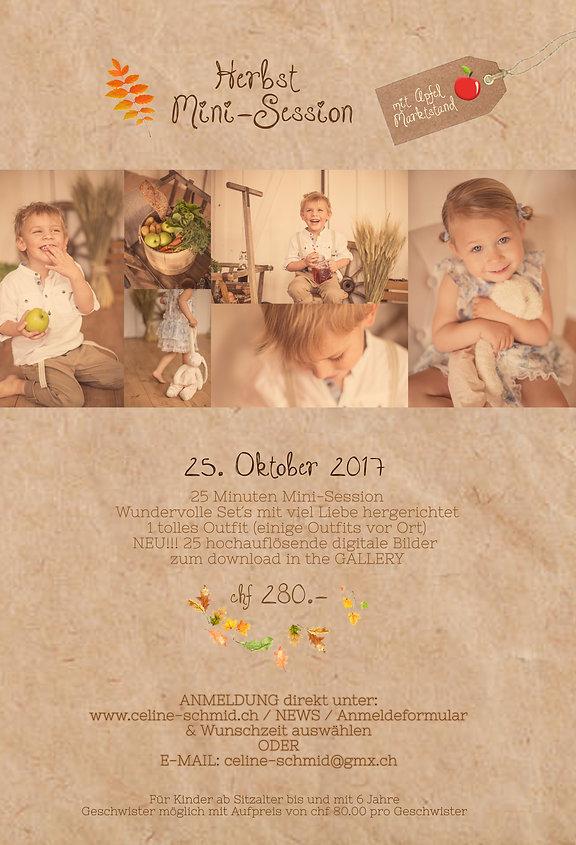 Herbstfotografie Kinder