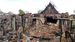 Incendie d'une maison