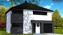 Maison cubique tout confort  pour 160 000€.