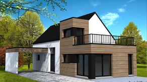 Maison pour terrain étroit