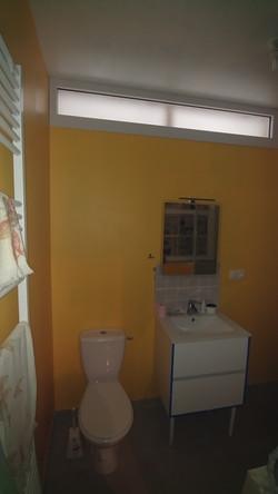 Salle de bains après travaux