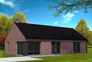 Maison simple moderne