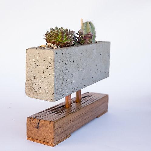 Indoor Rectangular Cement Planter