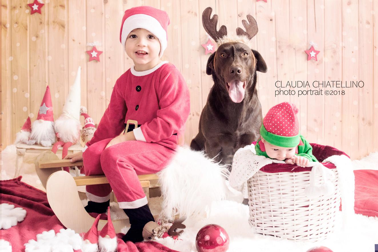 Servizio forografico Bambini Natale