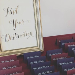 Place Cards for Guests