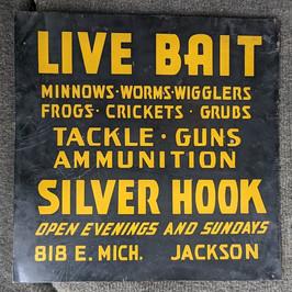 1940's Bait Shop Sign