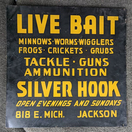 1940's Bait Shop Sign