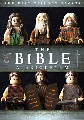 The Bible A Brickfilm DVD The Epic Trilogy Begins