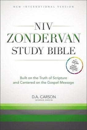 NIV Zondervan Study Bible HC