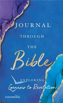 Journal Through the Bible, Exploring Genesis to Revelation HC