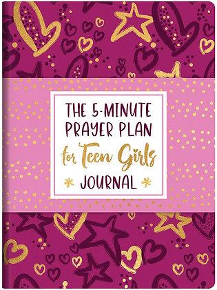 The 5-minute Prayer Plan for Teen Girls Journal DT by MarriLee Parish