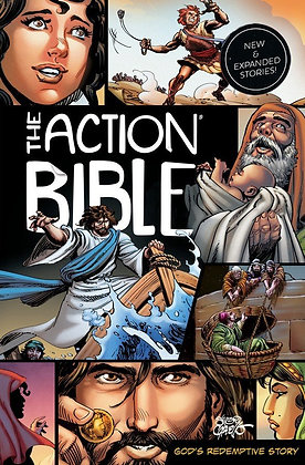 The Action Bible HC God's Redemptive Story