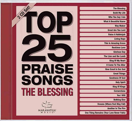 Top 25 Praise Songs The Blessing 2CD